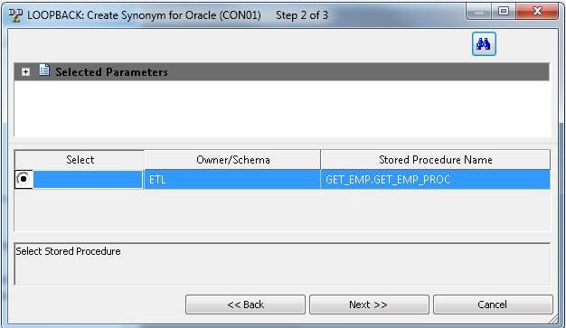 Creating metadata select synonym candidates step 2 dialog box m4hsunfo