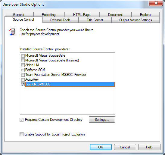 Managing a Project With Source Control