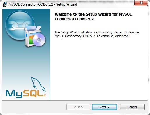 mysql connector odbc 5.2.7
